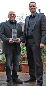 Ulrich Flohrer (links) und FBB-Präsident Dr. Gunter Mann