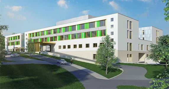 Der Neubau der Glantal-Klinik Meisenheim ist mit dem DGNB Vorzertifikat in Silber ausgezeichnet worden.