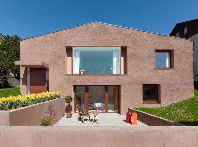 Wohnhaus Cammerer in Adelberg von Klumpp + Klumpp Architekten aus Stuttgart erhielt eine Anerkennung.