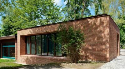 Das Pfarrhaus der Erlöserkirche in Landshut von den Architekten Neumeister & Paringer, Landshut, erhielt eine Anerkennung.