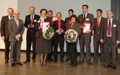 Preisverleihung 'Brandschutz des Jahres 2012'