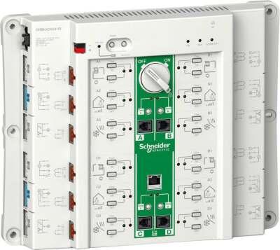 Roombox konzentriert/strukturiert Energieverteilung in Bürogebäuden