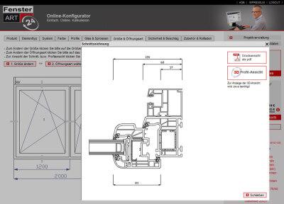 Fenster Online-Konfigurator von FensterART