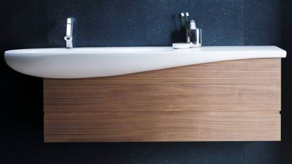 Waschtisch-Welle von Designer Stefano Giovannoni