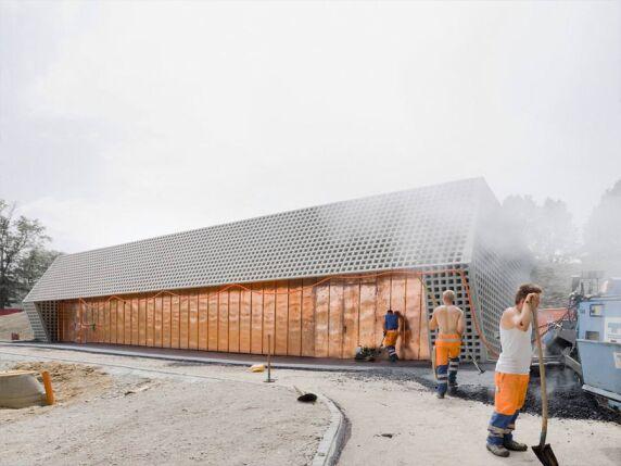 Wasserreservoir Bruderholz von Berrel Berrel Kräutler Architekten (Foto: Eik Frenzel)