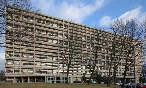 """""""Unité d'habitation"""" von Le Corbusier (1887-1965)"""
