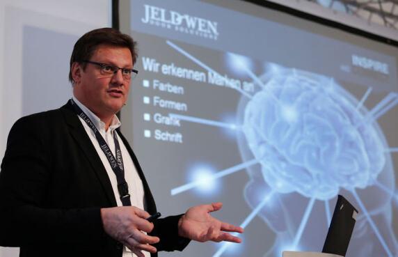 Markus Hütt, Jeld-Wen-Geschäftsführer Vertrieb& Marketing