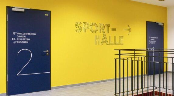 Sporthalle Industrieschule Chemnitz © Gourdin & Müller, LeipzigHamburg