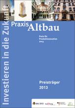 """Wettbewerb """"Praxis Altbau - Preis für Produktinnovation"""""""