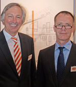 Unipor-Vorstand Anton Hörl und Geschäftsführer Dr.-Ing. Thomas Fehlhaber