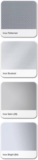 Reynobond Inox Verbundplatten-Sortiment