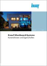 """Broschüre """"Knauf Silentboard-Systeme"""""""