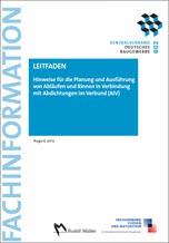 Hinweise für die Planung und Ausführung von Abläufen und Rinnen in Verbindung mit Abdichtungen im Verbund (AIV)