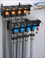 Raugeo Click-Geothermieverteiler von Rehau
