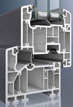 Schüco Alu Inside mit AutomotiveFinish-Oberfläche