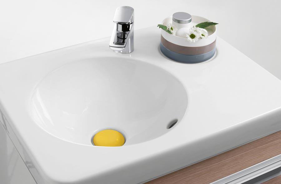 Villeroy und boch waschbecken rund  Gäste Wc Waschbecken Rund: Hänge waschbecken gäste wc lavabo rund ...