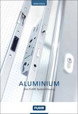 Broschüre über Schlösser für Aluminiumtüren