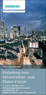 Siemens Infrastruktur- und Planerforum