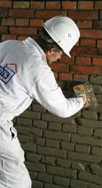 Dichtungsschlämme / Sufatexschlämme der Remmers Baustofftechnik