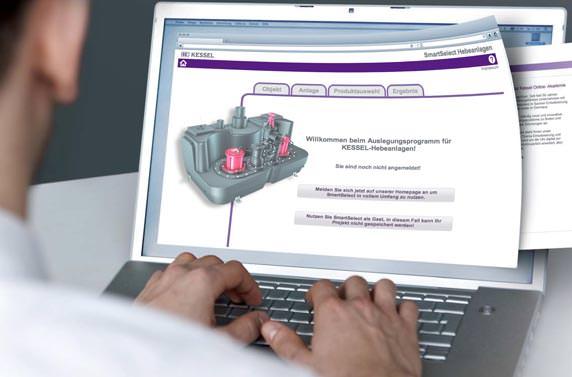 SmartSelect: Online-Konfigurator für Hebeanlagen