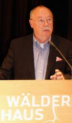 Ullrich Huth, Vorsitzender von Holzbau Deutschland- Bund Deutscher Zimmermeister im Zentralverband des Deutschen Baugewerbes