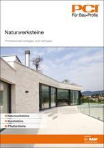"""Broschüre """"Naturwerksteine- Professionell verlegen und verfugen"""""""