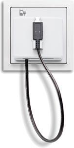 USB-Ladestation-Einsatz