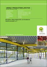 "Branchen-EPD BFS-20130094-IBG1 ""Baustähle: Offene Walzprofile und Grobbleche"""