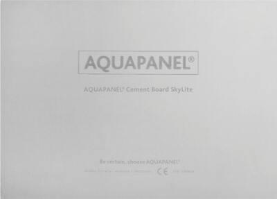 Deckenplatte AQUAPANEL® Cement Board SkyLite