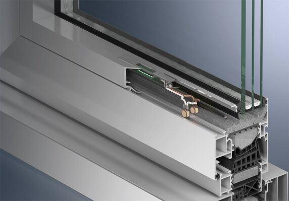 Ausleuchtung von innen: Einsatz in der Glasleiste bei Fenstern