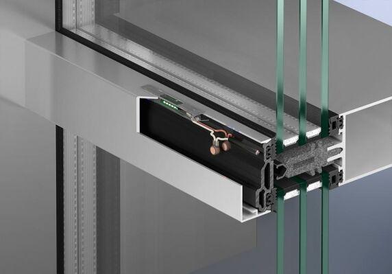Ausleuchtung von außen: Einsatz in der Deckschale bei Fassaden