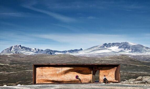Norwegian Wild Reindeer Centre Pavilion © Snøhetta