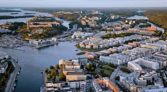 Hammarby Sjöstad, Stockholm (S) 1999–2018, S. 267 © Ola Ericson