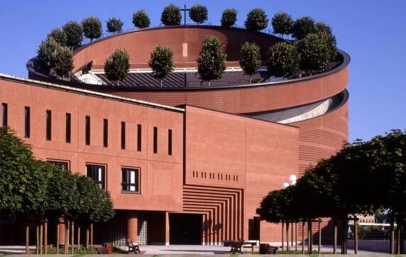 Cathédrale de la Résurrection (Évry, Frankreich) von Mario Botta Architects © Pino Musi