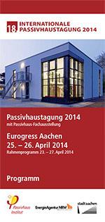Programm der Internationalen Passivhaustagung 2014