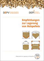 """Broschüre """"Empfehlungen zur Lagerung von Holzpellets"""""""