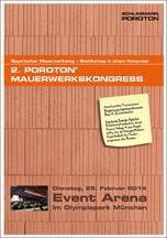 Zweiter Poroton Mauerwerkskongress am 25.2.2014