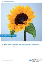 4. Kölner Photovoltaik-Anwenderkonferenz
