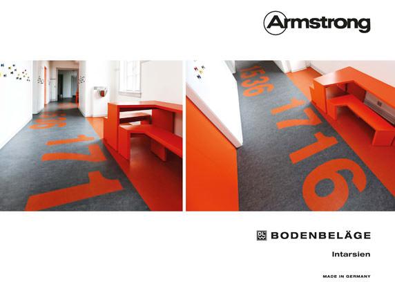 Intarsien-Broschüre von Armstrong