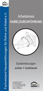 Informationsbroschüre zum Arbeitskreis Kabeldurchführung
