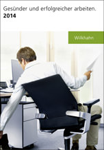 """Wilkhahn Katalog 2014 """"Gesünder und erfolgreicher Arbeiten"""""""