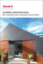 """Broschüre """"Schöner Energiesparen mit Dächern und Fassaden von Eternit"""""""