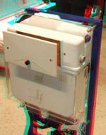 ausgebauter 50-jähriger Unterputz-Spülkasten von Geberit