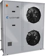 Syscroll 20-30 Air EVO HP: Luft/Wasser-Industriewärmepumpe mit Invertertechnologie  zur Außenaufstellung