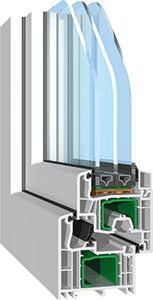 Profilsystem Streamline MD von der Salamander Industrie-Produkte GmbH