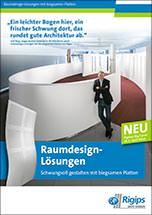 """Broschüre """"Raumdesign-Lösungen"""""""