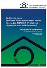Rechtsgutachten zu Haftungsrisiken bei mangelnder Lüftung in Wohnräume