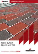 """Titel Wienerberger Broschüre """"Natur pur auf Schritt und Tritt"""""""