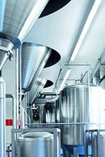 Aragon LED Feuchtraumleuchte in der Lebensmittelindustrie
