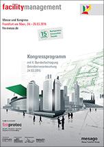 Kongressprogramm der Facility Management 2015